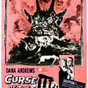 Night Of The Demon, Aka Curse Of The Poster by Everett