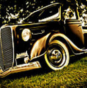 37 Ford Pickup Poster by Phil 'motography' Clark