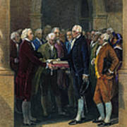 Washington: Inauguration Poster by Granger