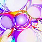 Abstract Of Circle  Poster by Setsiri Silapasuwanchai
