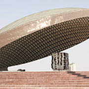 Baghdad, Iraq - A Great Dome Sits At 12 Poster by Terry Moore