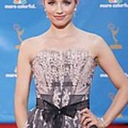 Dianna Agron Wearing A Carolina Herrera Poster by Everett