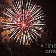 Fireworks Poster by Juan  Silva