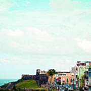Old San Juan Puerto Rico Poster by Kim Fearheiley