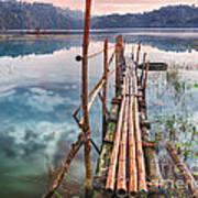 Tamblingan Lake Poster by MotHaiBaPhoto Prints