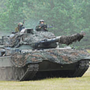 The Leopard 1a5 Main Battle Tank Poster by Luc De Jaeger