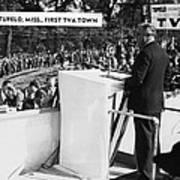 President Franklin D. Roosevelt Poster by Everett