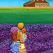A Moment - Crop Of Original - To See Complete Artwork Click View All Poster by Anne Klar