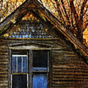 Abandoned Old House Poster by Jill Battaglia