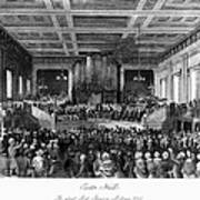 Abolition Convention, 1840 Poster by Granger