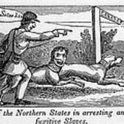 Abolitionist Political Cartoon Poster by Everett