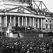 Abraham Lincolns First Inauguration - March 4 1861 Poster by International  Images