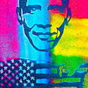 African-american Obama Poster by Tony B Conscious