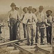 African American Work Team Poster by Everett