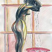African Woman Poster by Emmanuel Baliyanga