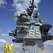 Air Department Sailors Test Poster by Stocktrek Images