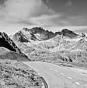 Albula Pass Road Poster by daitoZen