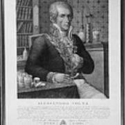 Alessandro Volta, Italian Physicist Poster by Omikron