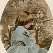 Alice Liddell, Alices Adventures Poster by Science Source