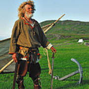 Along The Viking Trail Poster by Tony Beck