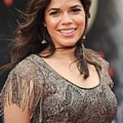 America Ferrera Wearing A James Poster by Everett