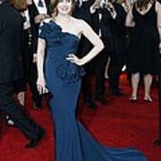 Amy Adams Wearing A Marchesa Gown Poster by Everett