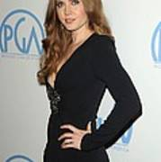 Amy Adams Wearing An Andrew Gn Dress Poster by Everett