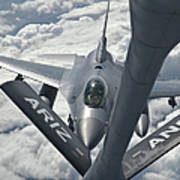 An F-16 From Colorado Air National Poster by Giovanni Colla