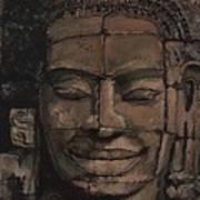 Angkor Smile - Angkor Wat Painting Poster by Khairzul MG