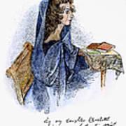 Ann Bronte (1820-1849) Poster by Granger