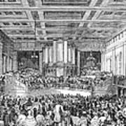 Anti-slavery Meeting, 1842 Poster by Granger