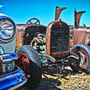 Antique Auto Sales Poster by Steve McKinzie