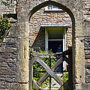 Antique Brick Archway Poster by Heiko Koehrer-Wagner