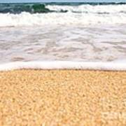 Approaching Wave Poster by Hideaki Sakurai