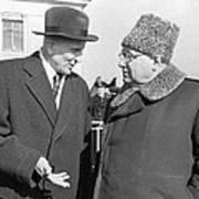 Arkhangelsky, Tupolev, Soviet Engineers Poster by Ria Novosti