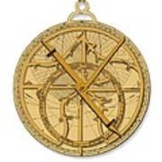 Astrolabe, Historical Artwork Poster by Detlev Van Ravenswaay