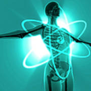 Atomic Woman Poster by MedicalRF.com