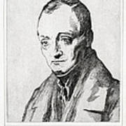 Auguste Comte, French Philosopher Poster by Humanities & Social Sciences Librarynew York Public Library