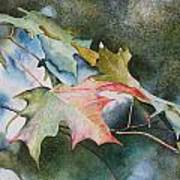 Autumn Sparkle Poster by Patsy Sharpe