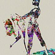 Ballet Dance Poster by Naxart Studio