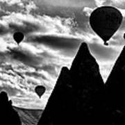 Ballons - 2 Poster by Okan YILMAZ