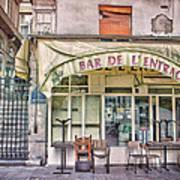 Bar De L'entracte Poster by Stephanie Benjamin