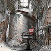 Barber - Chair - Eastern State Penitentiary Poster by Paul Ward