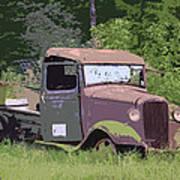 Barn Fresh Pickup Poster by Steve McKinzie