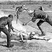 Baseball Game, 1885 Poster by Granger