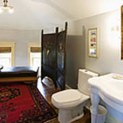 Bathroom With Sitting Area Poster by Andersen Ross