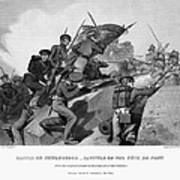 Battle Of Churubusco, 1847 Poster by Granger