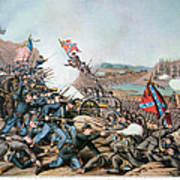 Battle Of Franklin, 1864 Poster by Granger