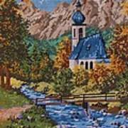 Bavarian Country Poster by M and L Creations Craft Boutique