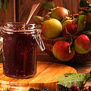 Blackberry And Apple Jam Poster by Amanda Elwell